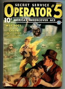 Operator #5 1/1936-Popular-hero pulp-WAR-DOGS OF THE GREEN DESTROYER