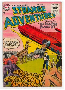 Strange Adventures (1950 1st Series) #59 VG, The Ark from Planet X