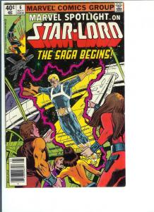 Marvel Spotlight Star-Lord  #6 - Bronze Age - 1980 (FN)