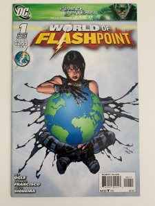 Flashpoint: The World of Flashpoint #1 in Near Mint + condition. DC comics