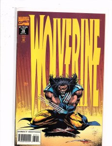 Marvel Comics Wolverine #79 Adam Kubert Cover & Art Larry Hama Story