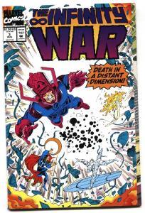 Infinity War #3-Thanos-1992-High Grade-NM-Marvel Cosmic--