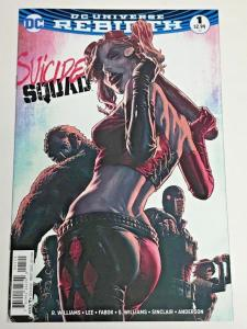 SUICIDE SQUAD #1, NM, Bermejo, Rebirth, 2016, more Harley Quinn in store