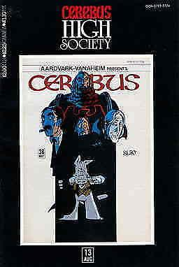 Cerebus High Society #13 FN; Aardvark-Vanaheim | save on shipping - details insi
