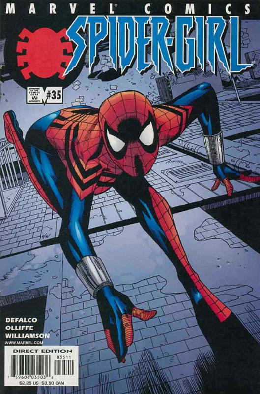 Spider-Girl #35 VF/NM; Marvel | save on shipping - details inside