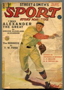 Sport Story Pulp 2nd May 1938- Grover Cleveland Alexander