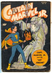 Captain Marvel Jr. #45 1946- Icy Fingers- Golden Age G