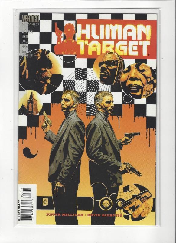 HUMAN TARGET #1-4 SET (NM) DC VERTIGO COMICS