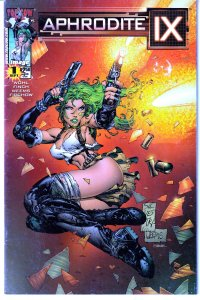 Aphrodite IX(mini-series, 2000)#1,2,3,4  Top Cow's Pleasure Android