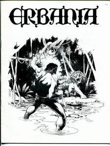 Erbania #40 1977 -Edgar Rice Burroughs-Tarzan-Mike Zeck-info-pix- FN/VF