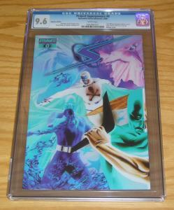 Project Superpowers #0 CGC 9.6 negative variant - alex ross - jim krueger