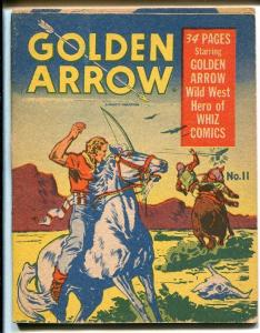 Mighty Midget #11 1942-Golden Arrow-1st starring book?---VG