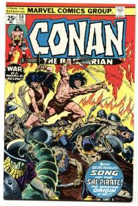 Conan The Barbarian #59 1976  Origin of Belit Marvel NM-