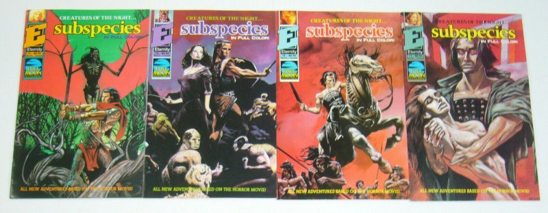 Subspecies #1-4 VF/NM complete series - all new adventures based on the movie