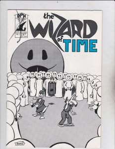 David House! The Wizard Of Time! Issue 1!
