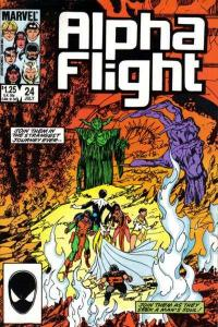 Alpha Flight (1983 series) #24, VF+ (Stock photo)