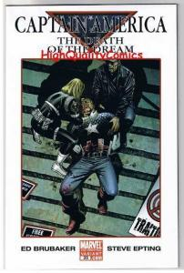 CAPTAIN AMERICA #25, NM+, Death of, Variant w/Bugle, 2005, more CA in store