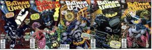 BATMAN UNSEEN (2009) 1-5  COMPLETE!