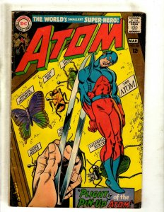 Atom # 35 FN DC Silver Age Comic Book Justice League Batman Superman Flash J462