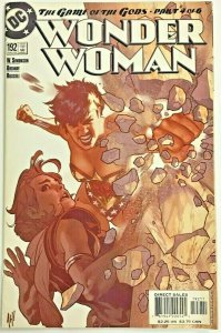 WONDER WOMAN#192 VF 2002 ADAM HUGHES COVER DC COMICS