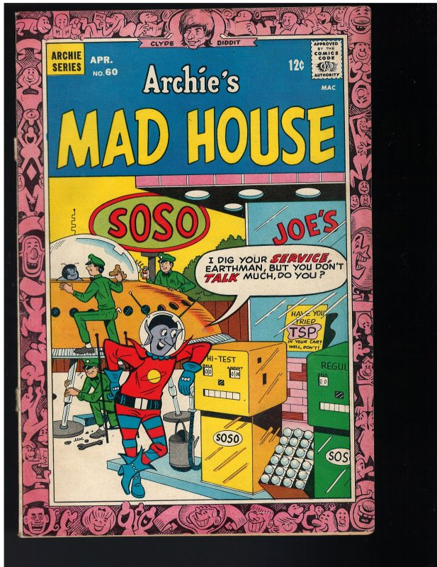 Archie's Madhouse #60 (1968)