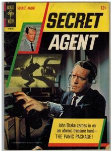SECRET AGENT 1 VG- Nov. 1966  PHOTO COVER