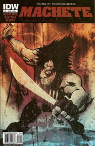 Machete #0 VF; IDW | save on shipping - details inside