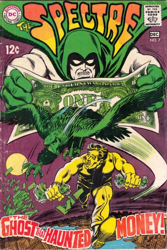 Spectre, The #7 (Dec-68) VG Affordable-Grade Spectre (Jim Corrigan)