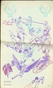 NEW WORLD OF COMICS FANZINE #15-TARZAN-GLUCKSON-1964    VG/FN