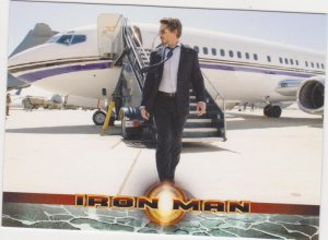 2008 Iron Man Movie Trading Card #9