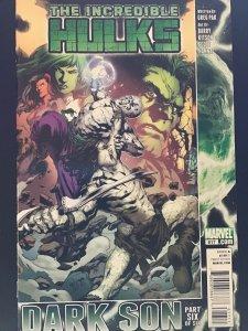 Incredible Hulks #617 (2011)