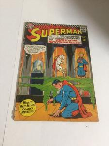 Superman 195 Gd Good 2.0 DC Comics Silver Age