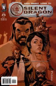 Silent Dragon #5 VF/NM; WildStorm | save on shipping - details inside