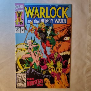 Warlock and the Infinity Watch 7 Very Fine Story by Jim Starlin