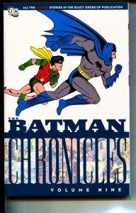 Batman Chronicles Volume 9 TPB trade