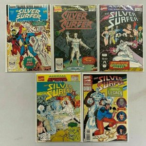Silver Surfer Annual lot 5 different 8.0 VF (1987-93)