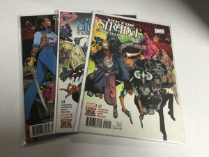 Doctor Strange And The Sorcerers Supreme 2 3 4 Nm Near Mint Marvel Comics