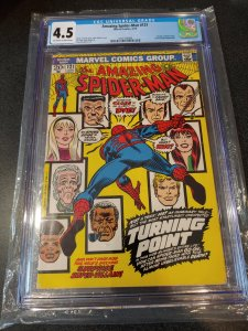 ​AMAZING SPIDER-MAN #121 CGC 4.5 DEATH OF GWEN STACY
