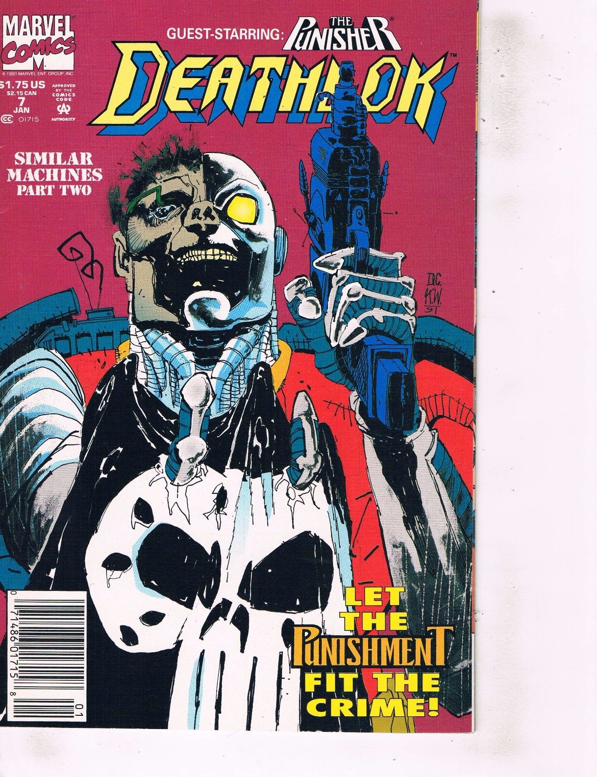 PUNISHER ANNUAL #4 VERY FINE 1991 MARVEL COMICS