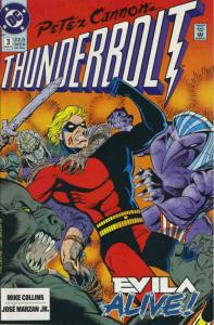 Peter Cannon-Thunderbolt #3 VF/NM; DC | save on shipping - details inside