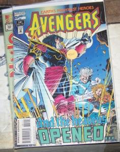Avengers # 381  1994, Marvel QUICKSILVER CRYSTAL INHUMANS