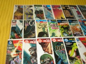 Lot of 45 DC Modern Comic Books, Bagged & Boarded, VF to NM, No Dupes, L1