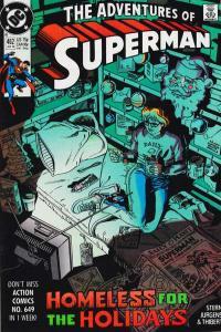 Adventures of Superman (1987 series) #462, NM- (Stock photo)