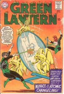 GREEN LANTERN (1960-1988) 38 G-VG  July 1965 COMICS BOOK