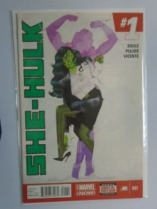 She-Hulk #1 8.0 VF (2014 3rd Series)