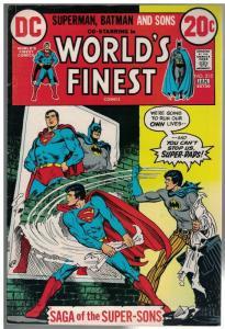 WORLDS FINEST 215 FN- Jan 1973  Batman/Supes Jr