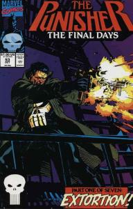 PUNISHER (1987) 53-59  BLACK PUNISHER Final Days