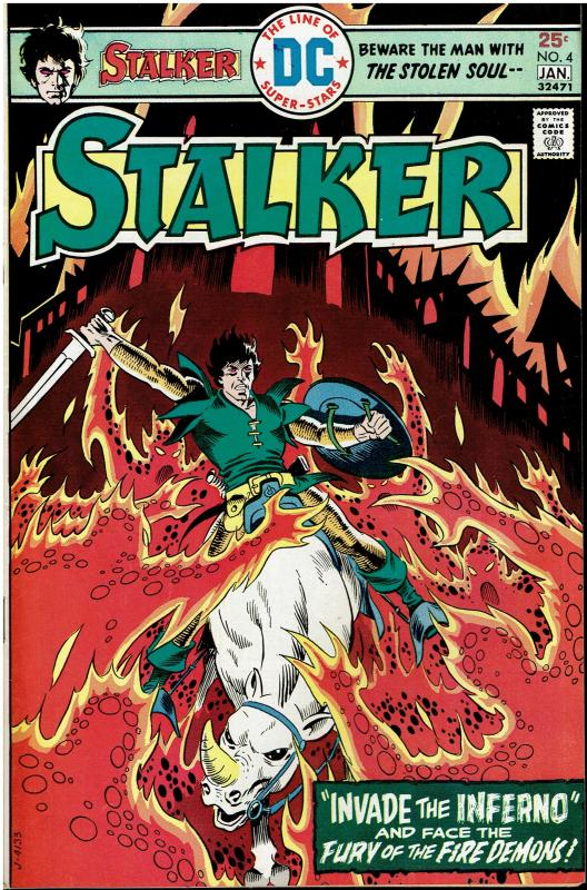 Stalker #4, 8.5 or better, Nice Copy