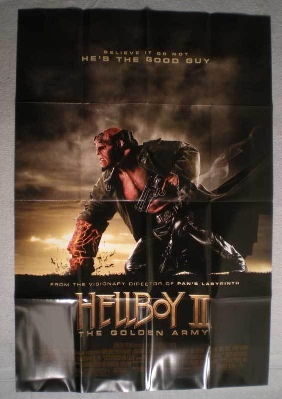 HELLBOY II THE GOLDEN ARMY Promo Poster, 2008, Unused, more in our store