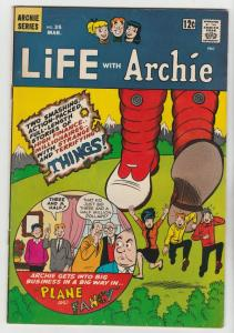 Life With Archie #35 (Mar-65) FN/VF Mid-High-Grade Archie, Jughead, Betty, Ve...
